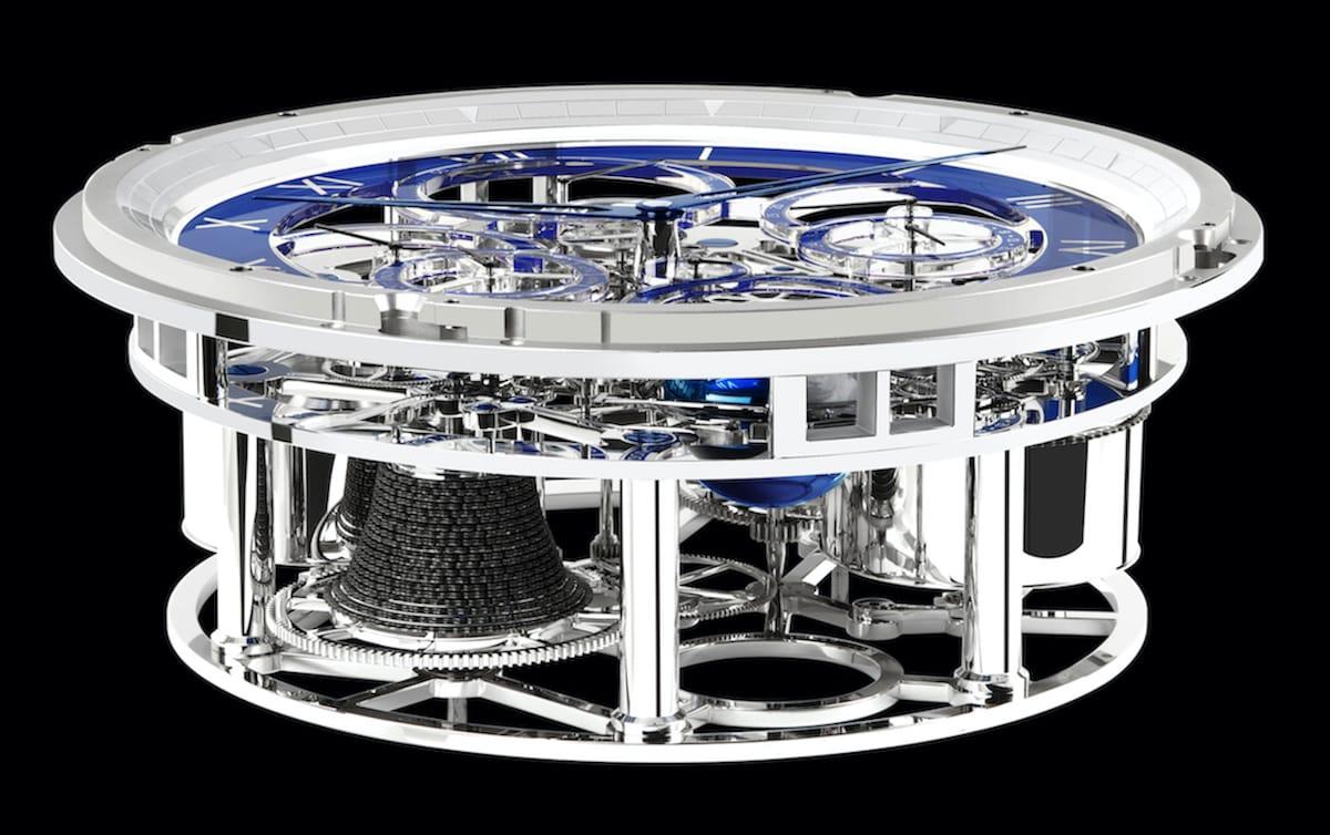 Студия Winch Design и мануфактура Thomas Mercer представили новый хронометр Nautilus