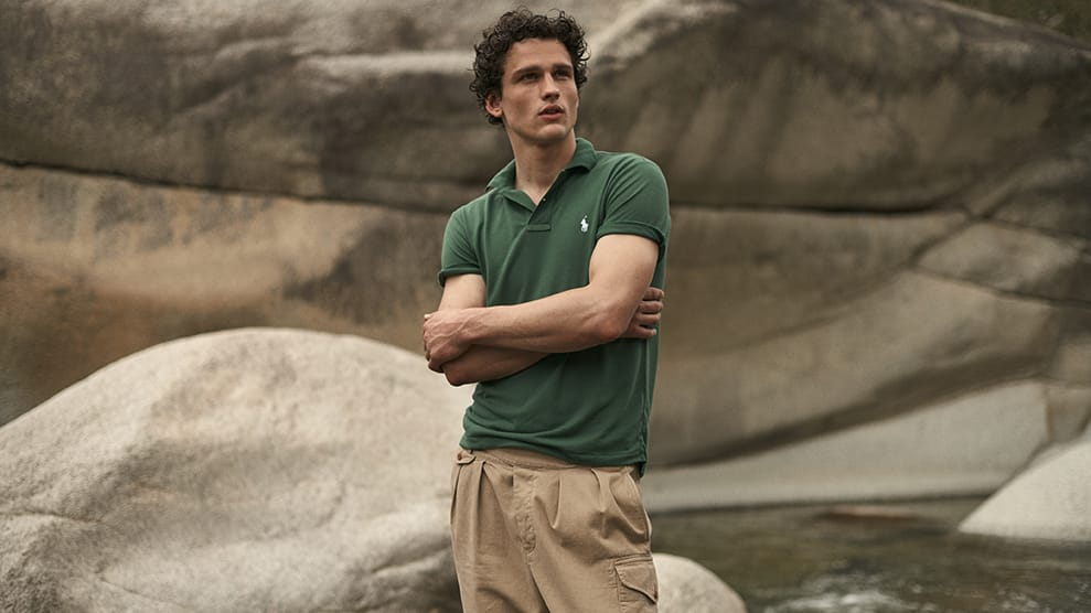 New polo shirt by Ralph Lauren is made to save the planet
