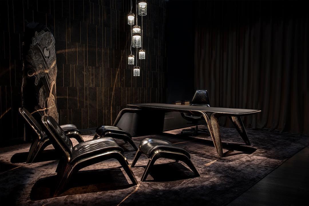 Капсульная коллекция мебели от Bentley в честь 100-летия