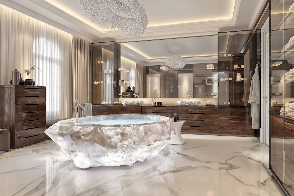 Самая дорогая ванна в мире дома в франции цены