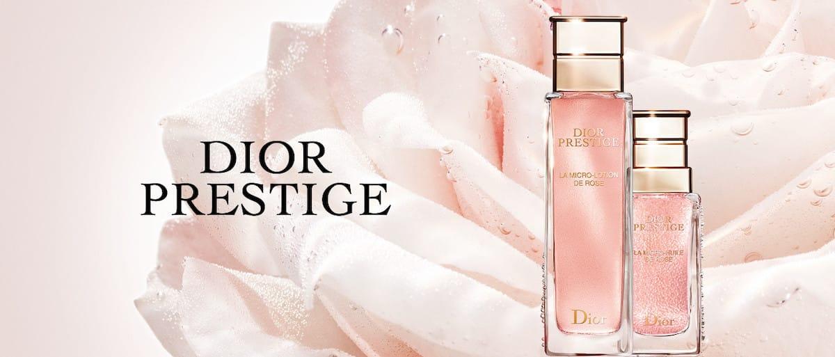 Совершенство розы: новый лосьон линии Dior Prestige