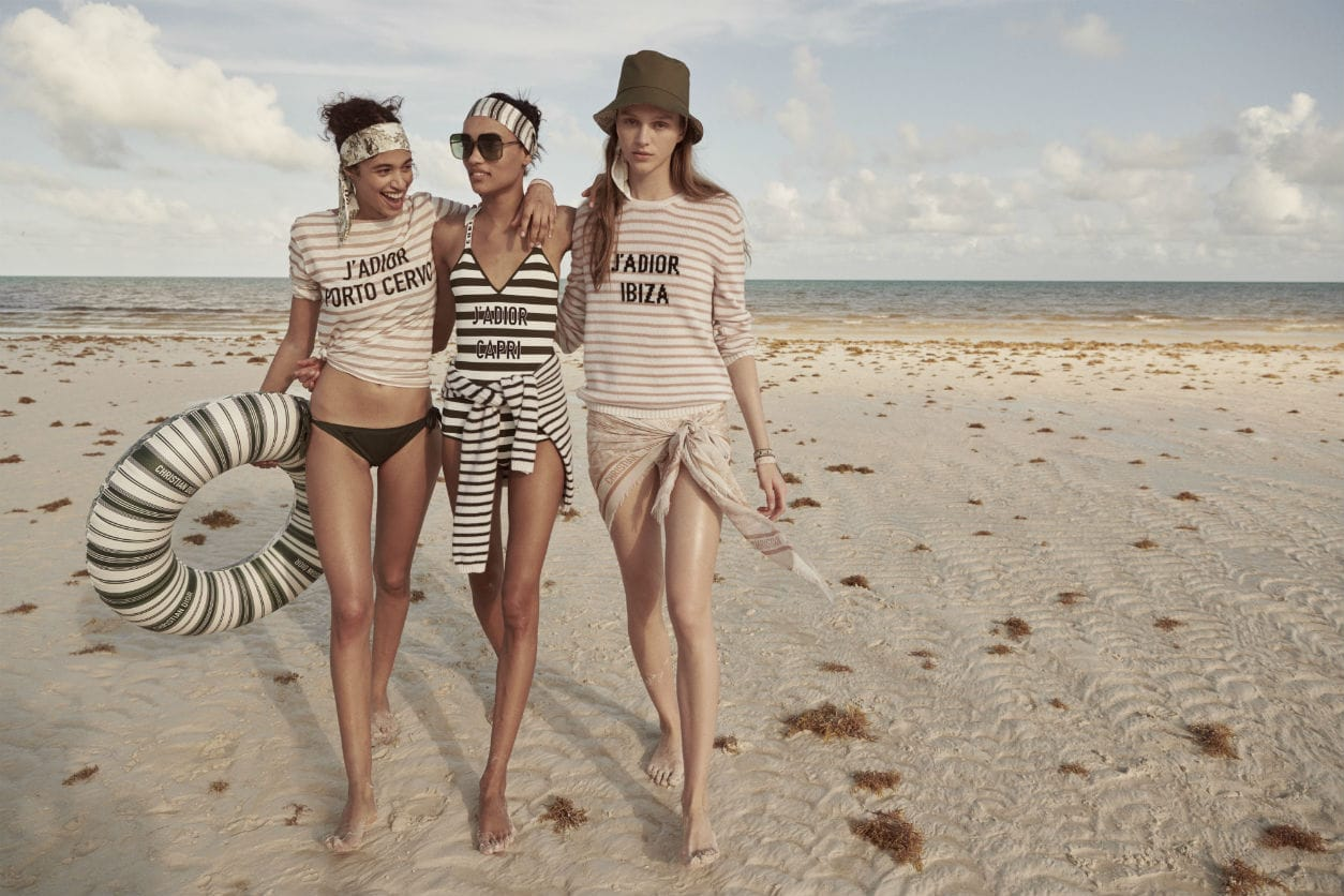 Dior's beach collection