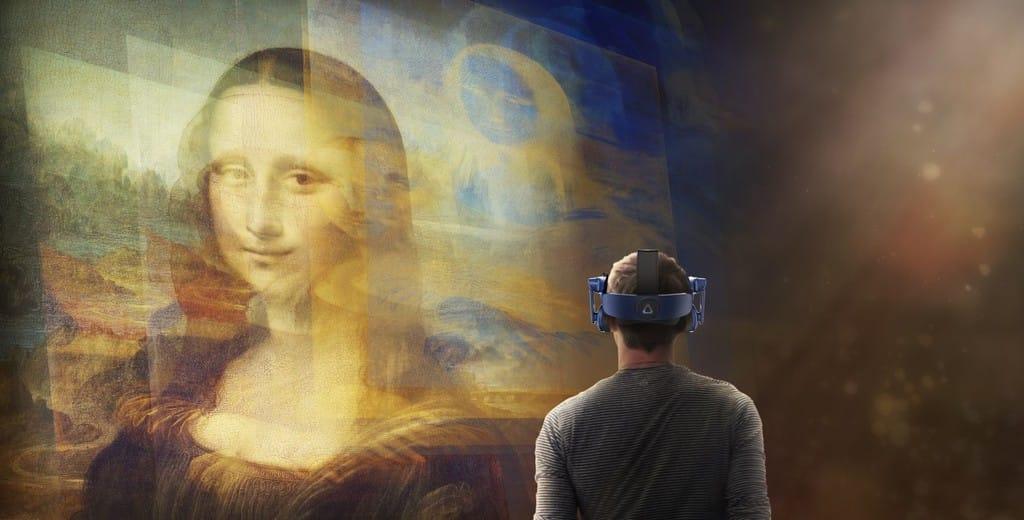 Мона Лиза в VR