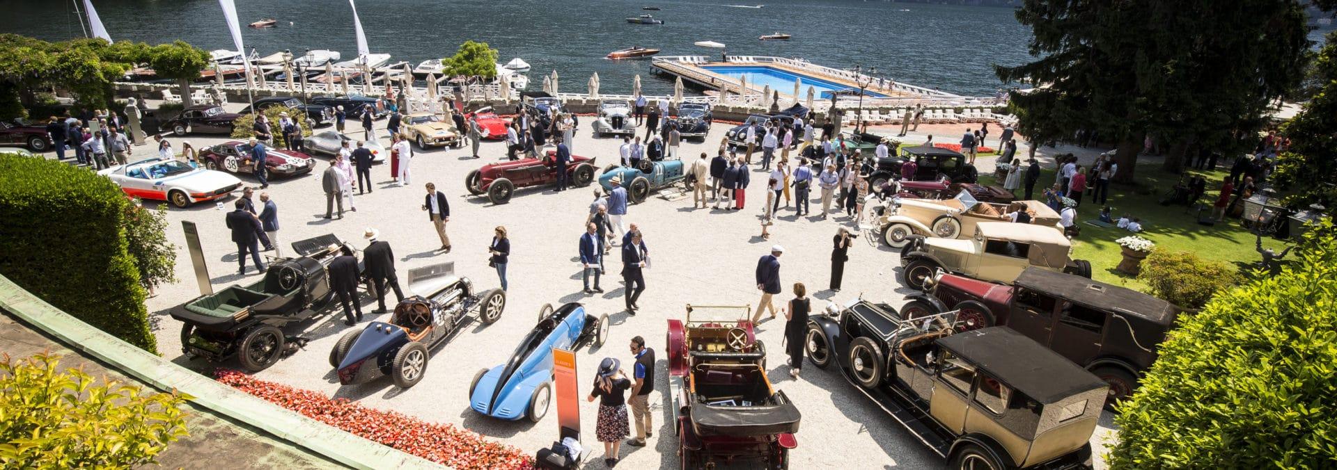 Лучшие автомобили мира на Concorso d'Eleganza Villa d'Este