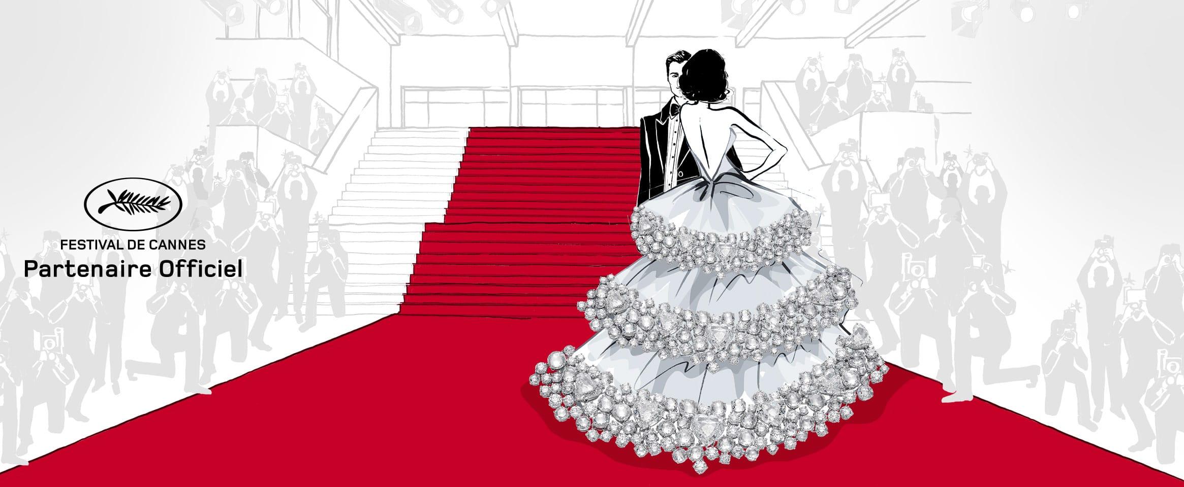 Коллекция Chopard Red Carpet Love для 72-го Каннского фестиваля