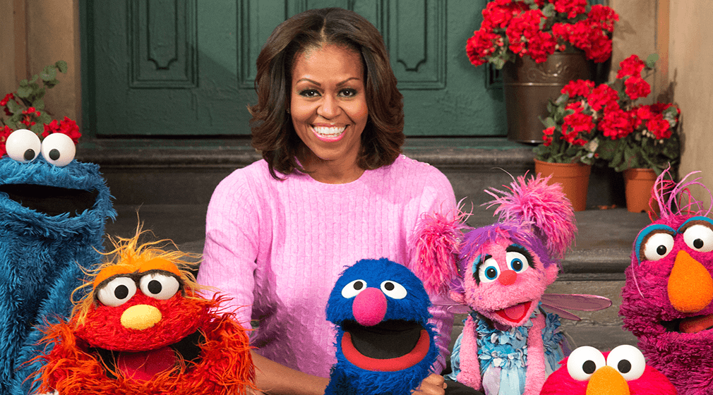 Michelle Obama Receives Sesame Street Award
