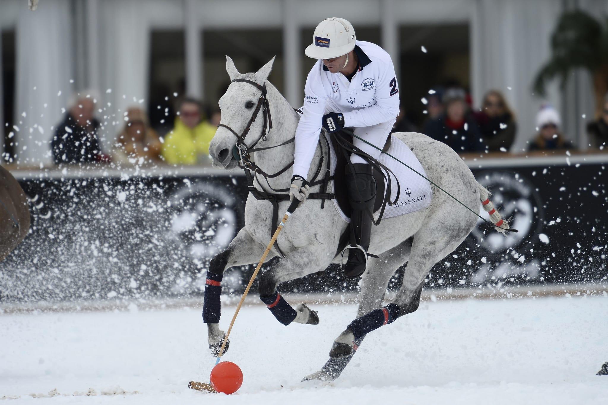 Исторический момент в «спорте королей»