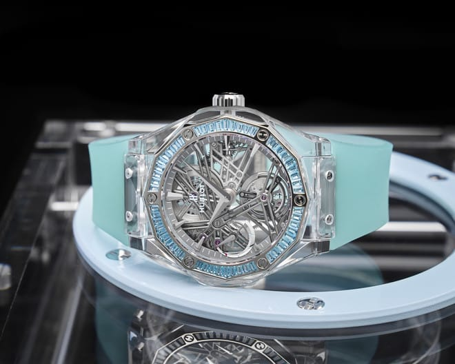 Hublot and Richard Orlinski create a watch for the Only Watch charity auction