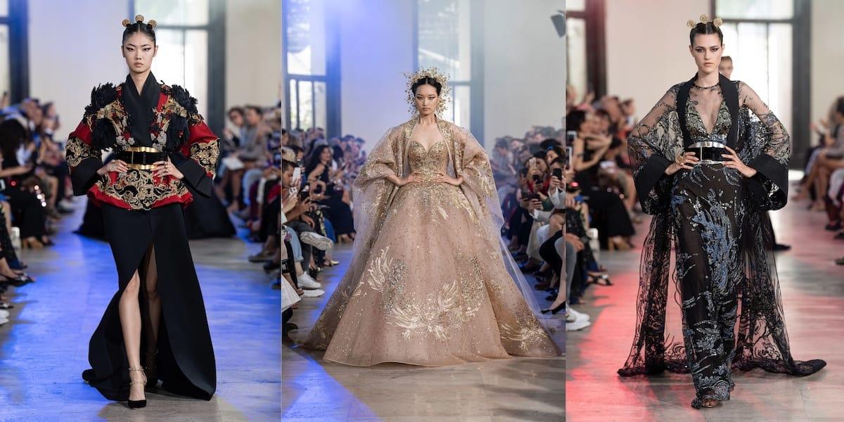 Магия востока на показе Elie Saab haute couture fall 2019
