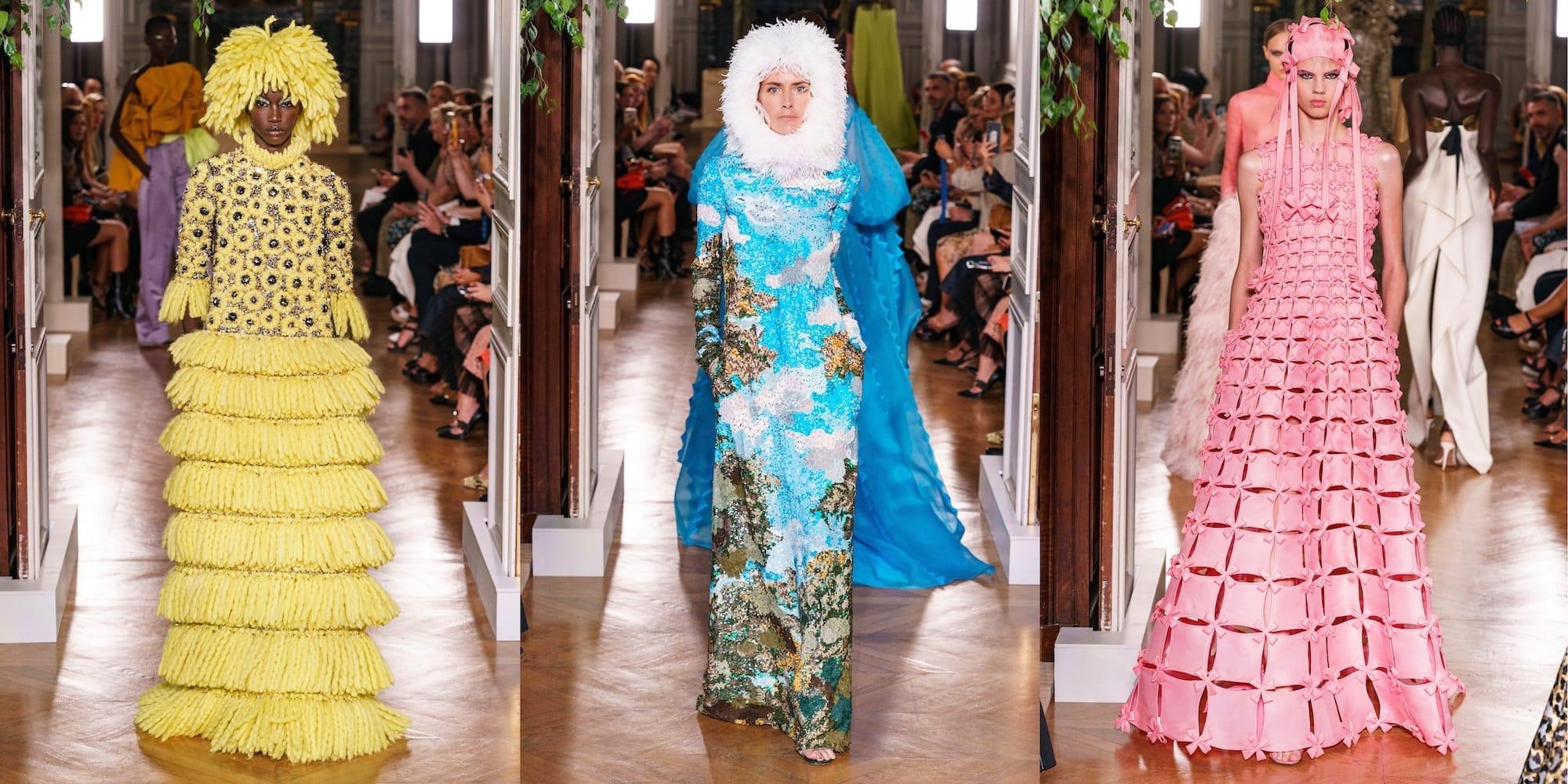Ода цвету: показ Valentino Haute Couture 2020