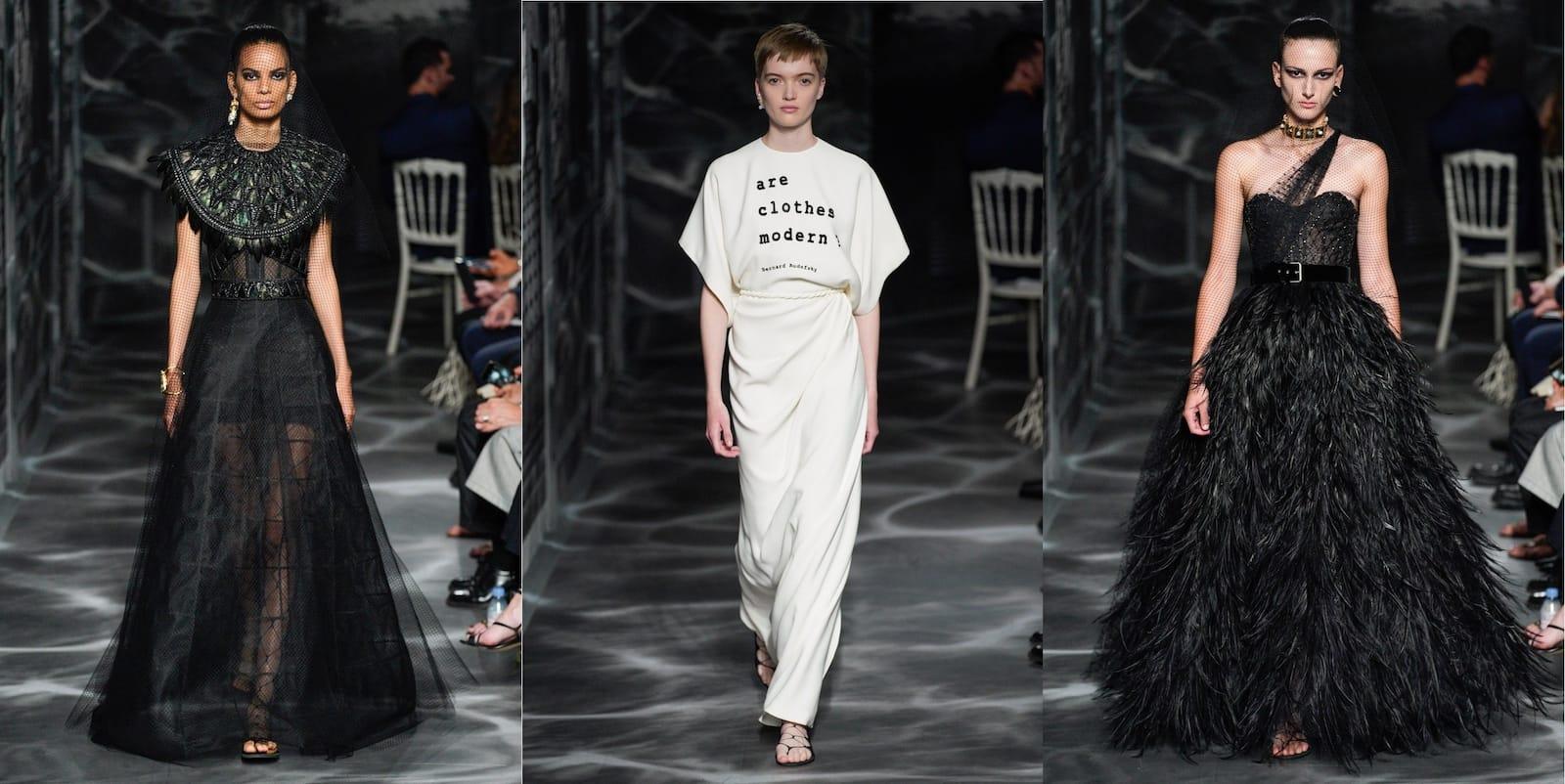 Показ haute couture Dior осень-зима 2019-2020
