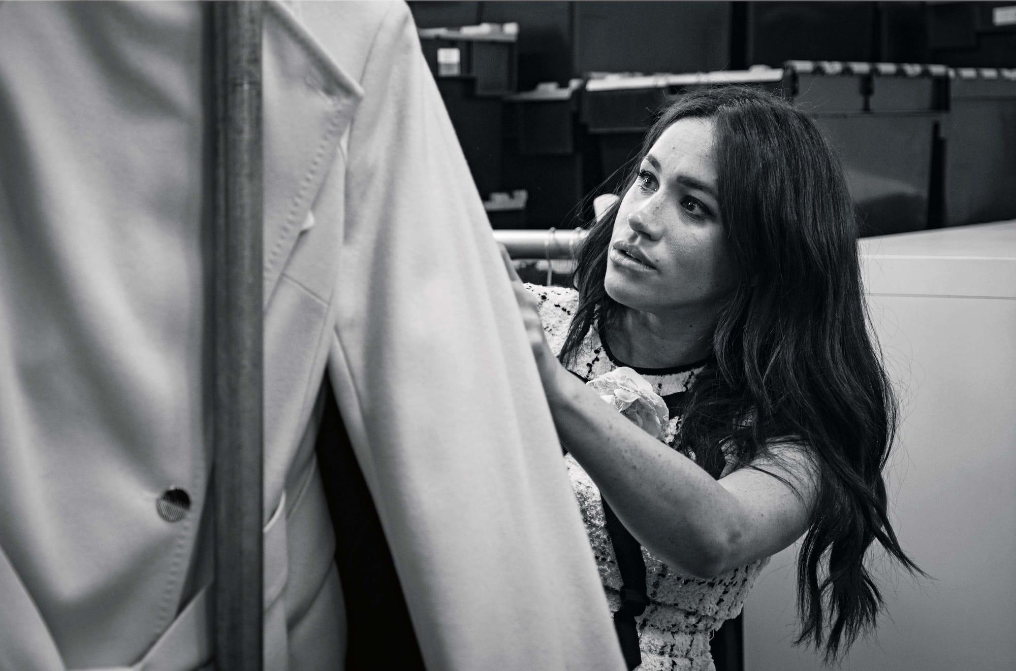 Меган Маркл стала приглашенным редактором Vogue