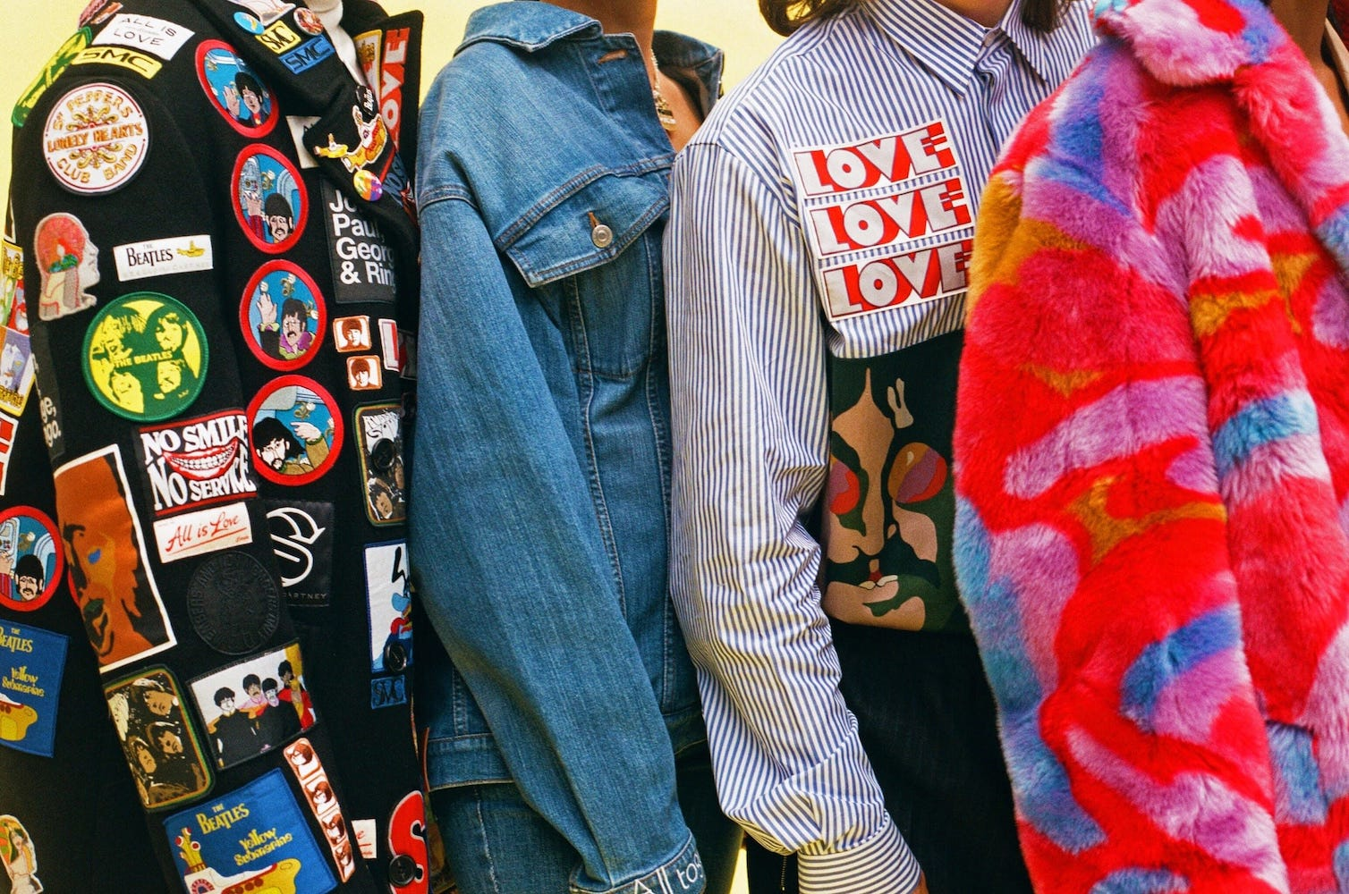 Стелла Маккартни выпустила коллекцию одежды, посвященную творчеству The Beatles