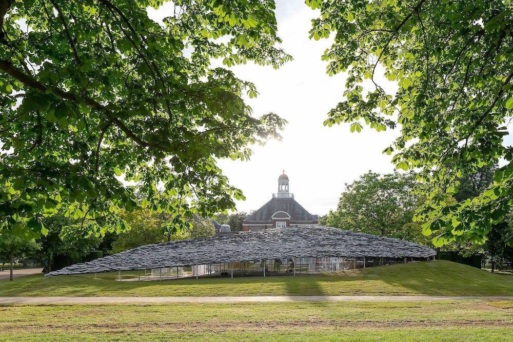 Джунья Ишигами построил лучший летний павильон в Кенсингтонских садах