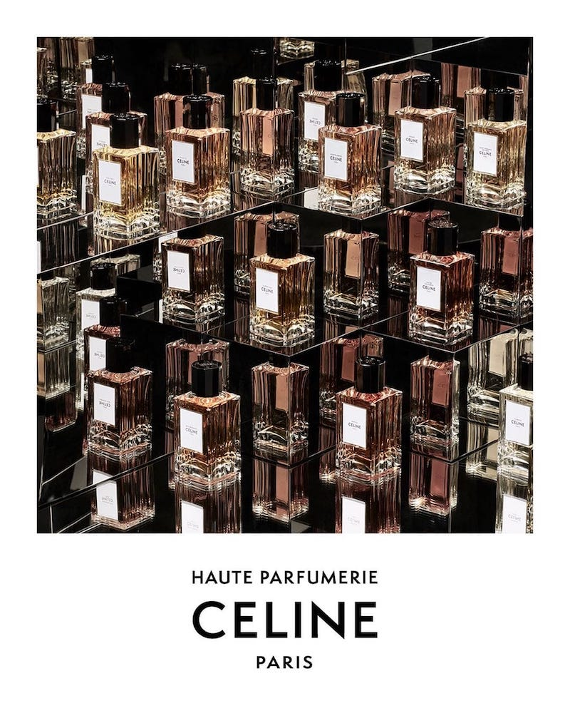 Celine анонсировал новую парфюмерную коллекцию