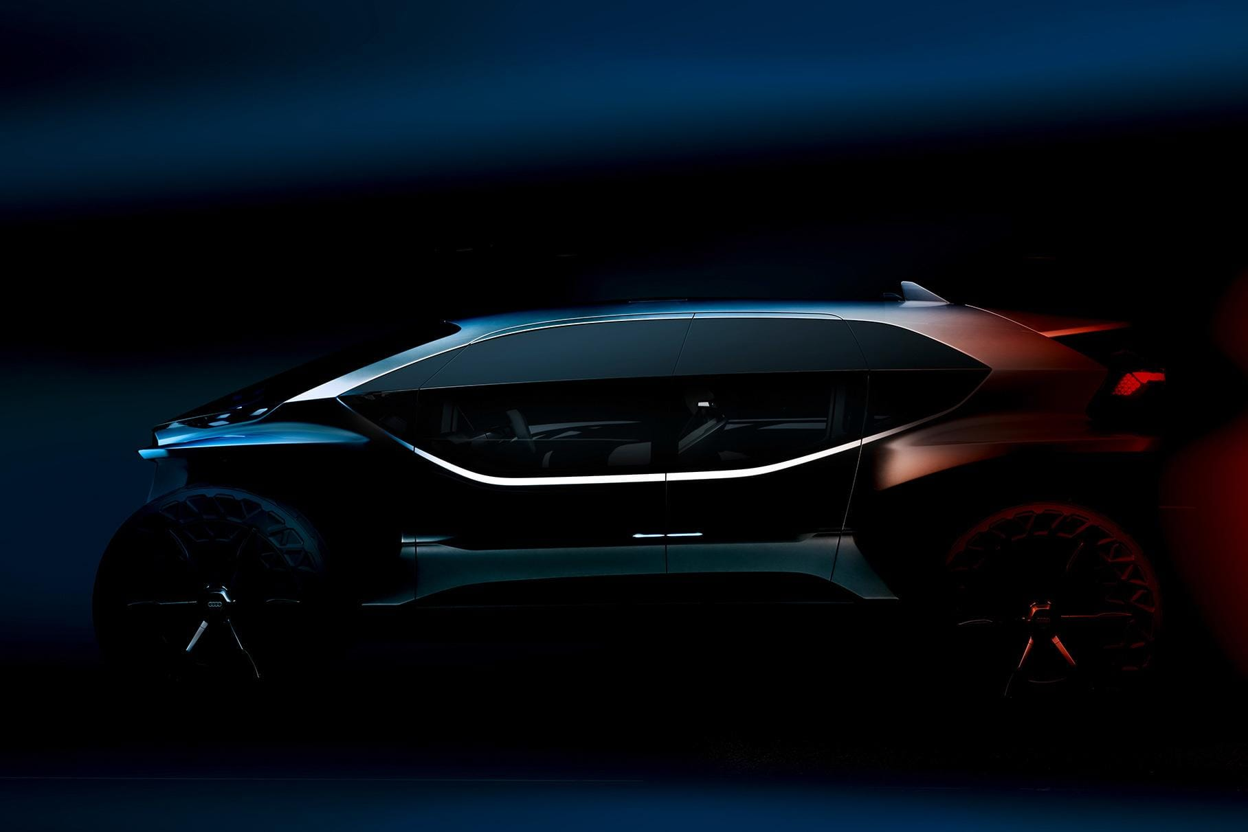 На Франкфуртском автосалоне Audi представит футуристичный электрический кроссовер