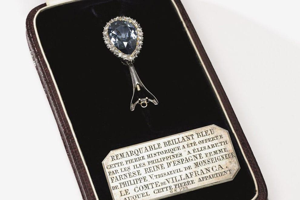 Легендарный голубой бриллиант Farnese Blue стал частью сокровищ Bvlgari