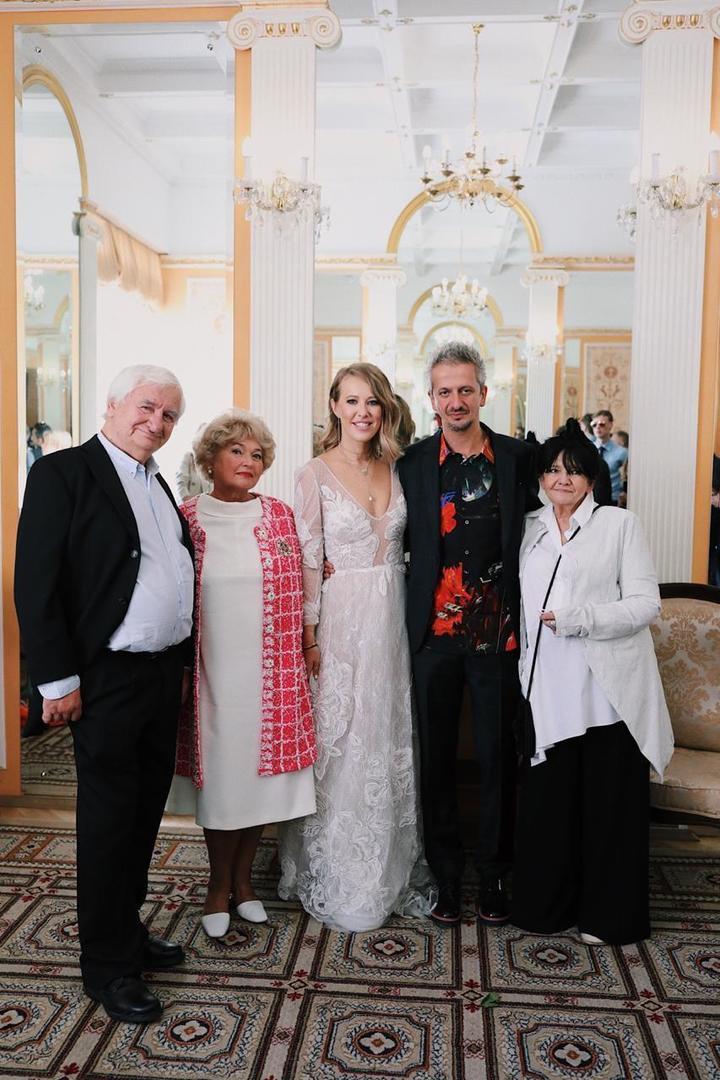 Ксения Собчак вышла замуж за Константина Богомолова