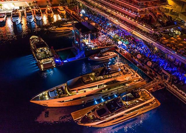 6 новых яхт от Ferretti Group представлены в Монако