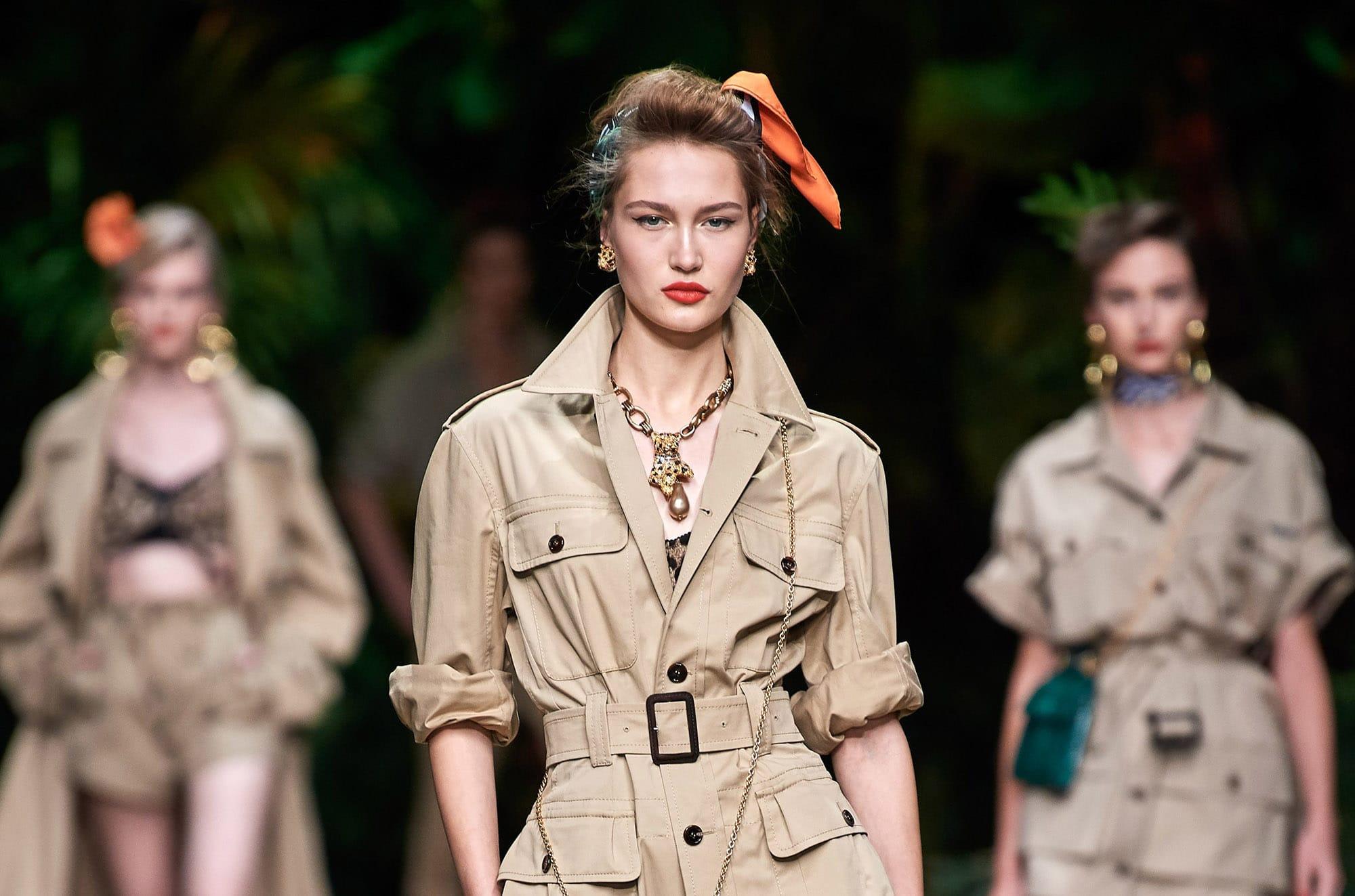 """Сицилийские джунгли"": показ Dolce & Gabbana весна 2020"