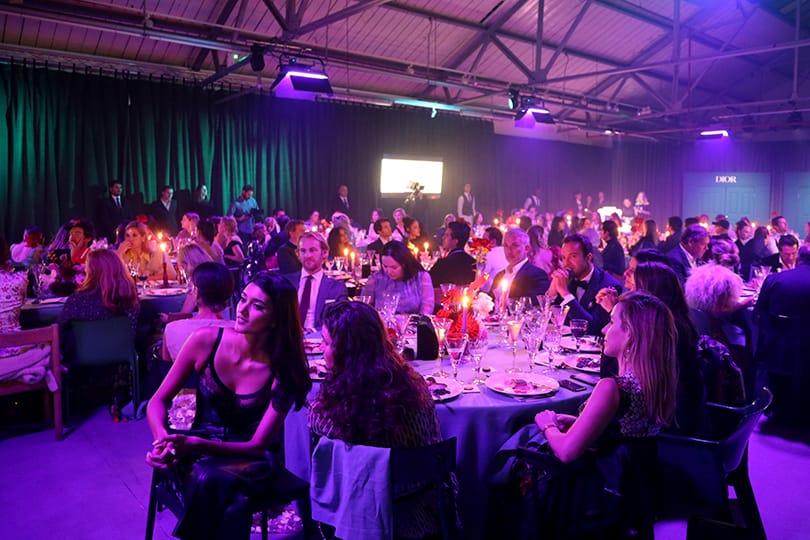 Благотворительный вечер Fabulous Fund Fair в Лондоне