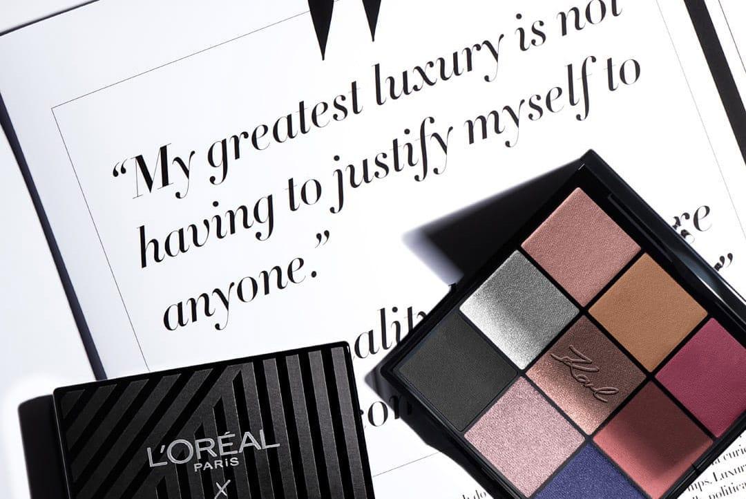 Косметика с парижским характером: Karl Lagerfeld x L'Oréal Paris