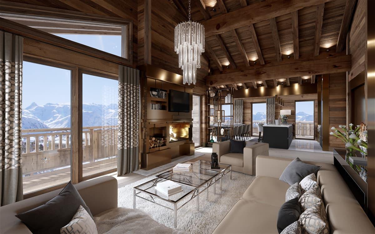 Как провести идеальный зимний отдых у подножья гор