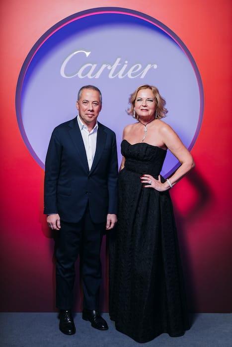 Гости ужина Cartier в МАММ