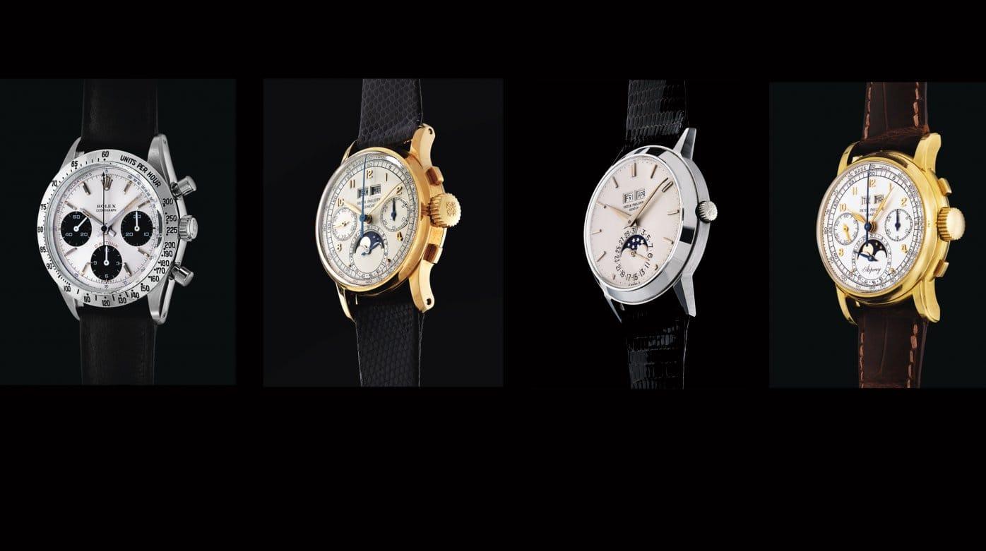 Аукционы часов: осень-зима 2019
