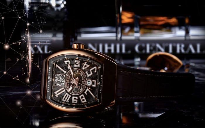 Frank Muller выпустила часы с биткоин-аккаунтом на 17 миллионов долларов