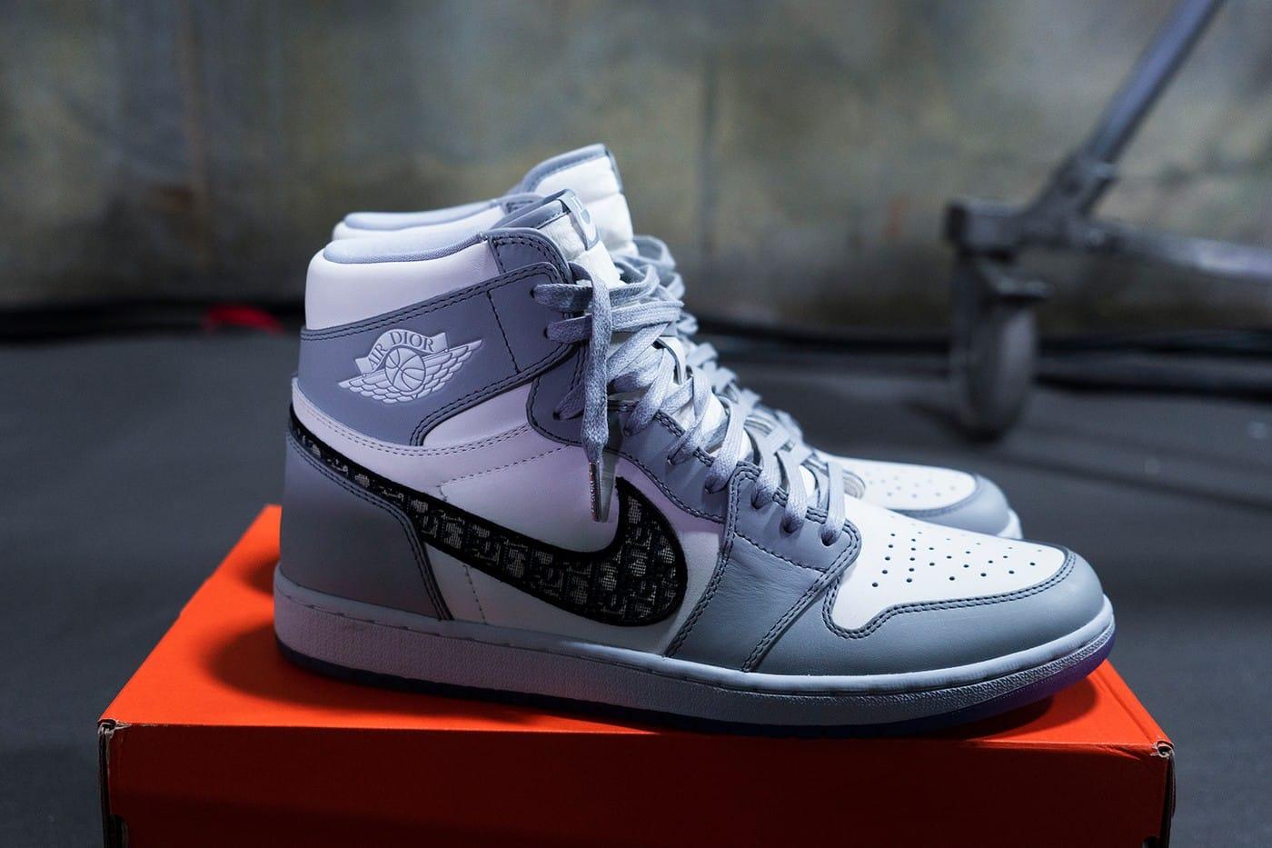 Кроссовки Nike и Dior