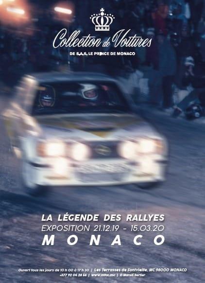 Выставка раллийных автомобилей в HSH Prince Car of Monaco Car Collection