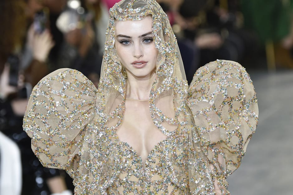 Сияние тысяч кристаллов: Elie Saab Haute Couture 2020