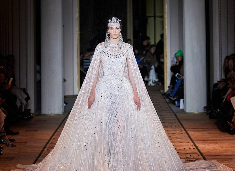 Cвадебный выход Haute Couture