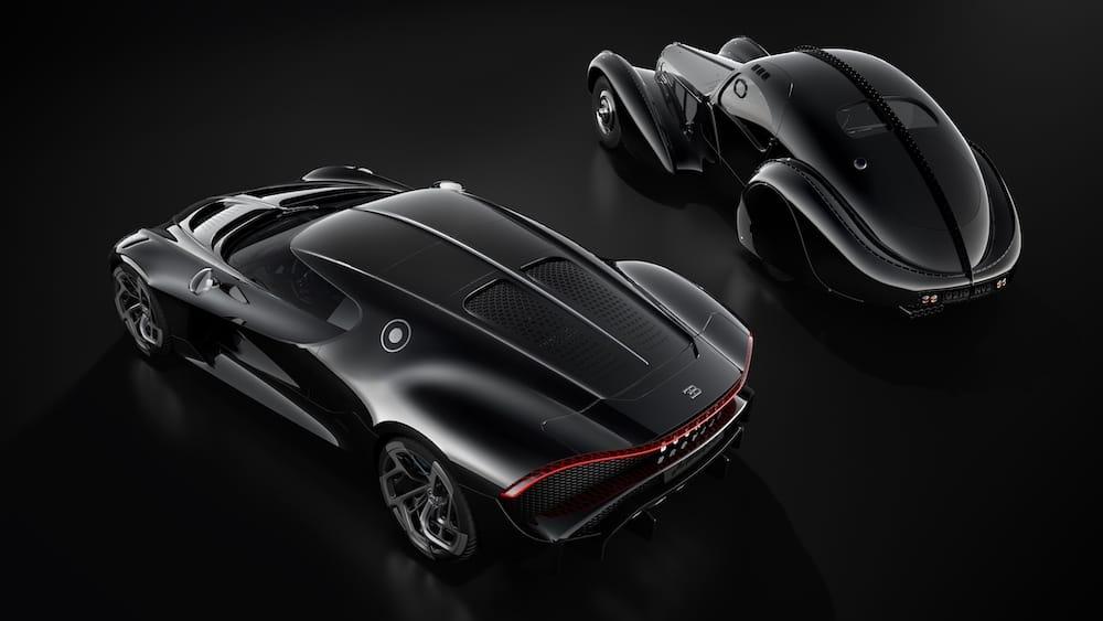 Bugatti La Voiture Noire стал самым дорогим автомобилем в мире
