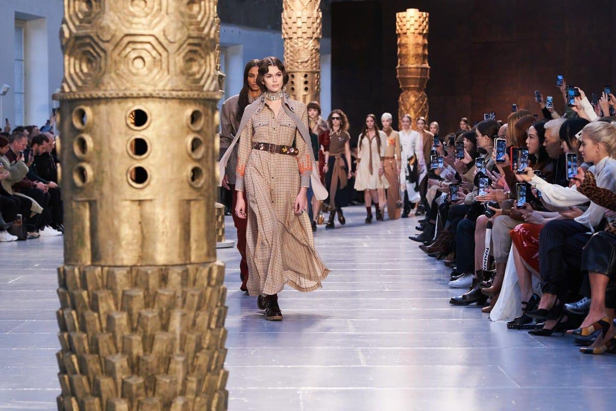 Парижская неделя моды. Chloé Осень-Зима 2020/2021
