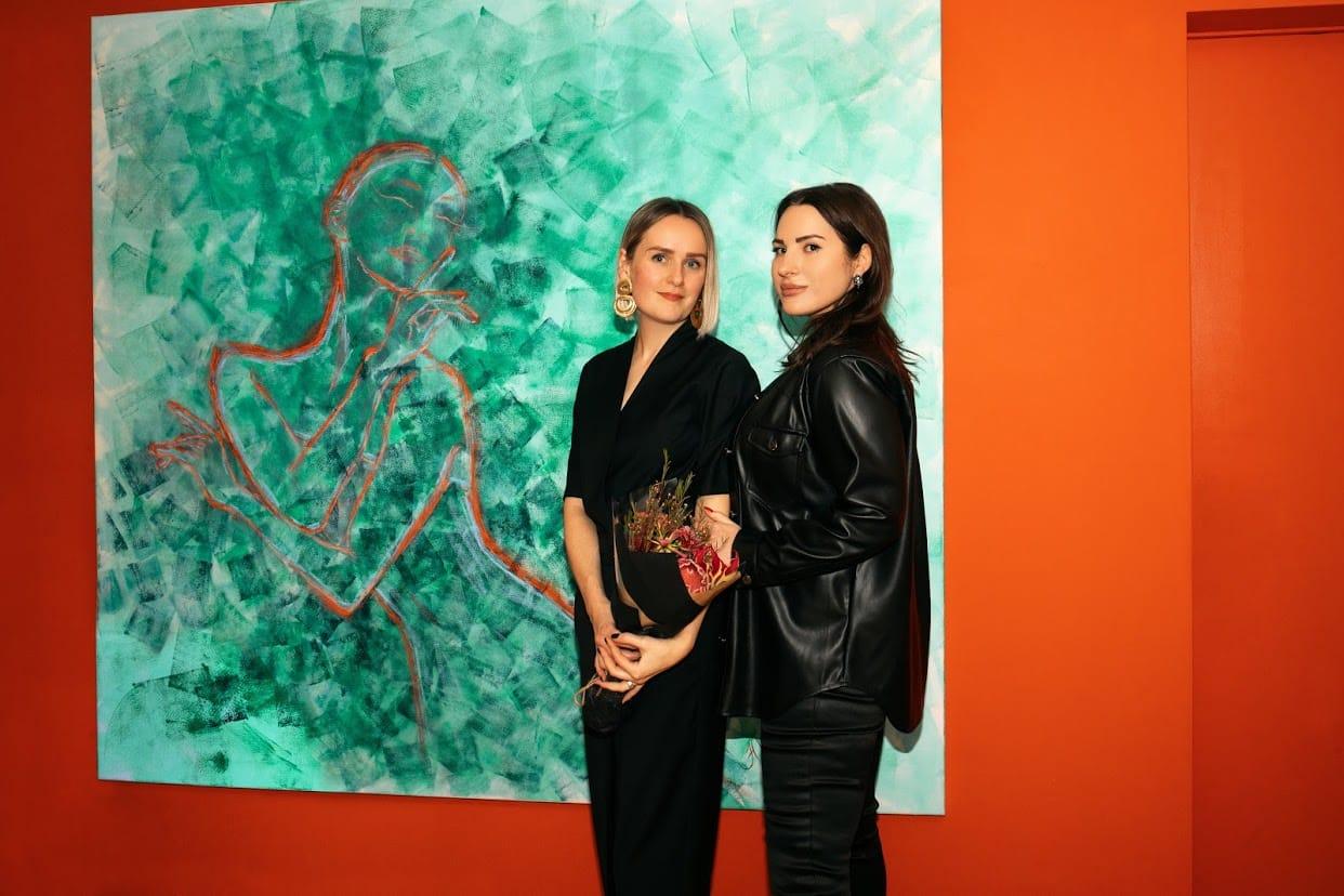Выставка Юлии Илиевой в Confiserie Zurcher