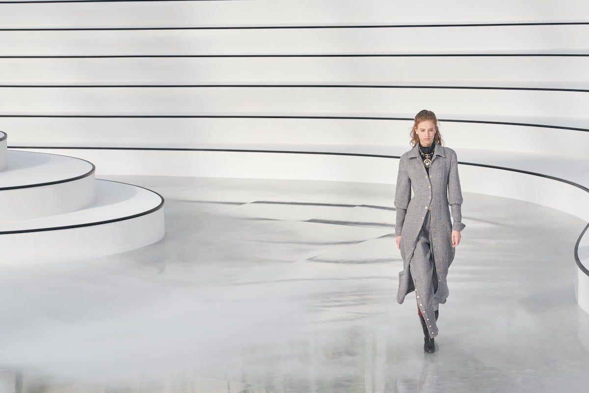 Парижская неделя моды. Chanel Осень-Зима 2020/2021