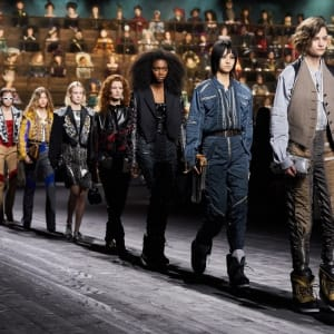 Paris Fashion Week. Louis Vuitton Fall-Winter 2020/2021