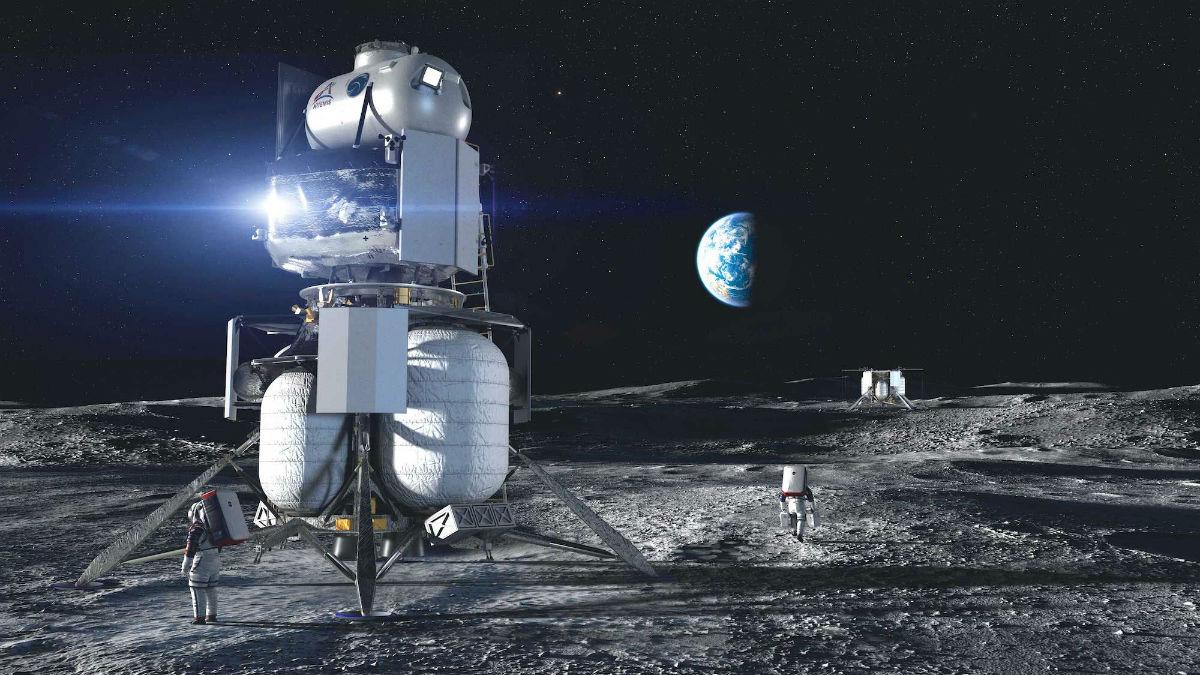Джефф Безос и Илон Маск начнут разрабатывать аппараты для высадки на Луну