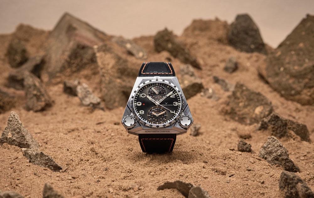 Часовой мастер Константин Чайкин представил первые в мире марсианские часы