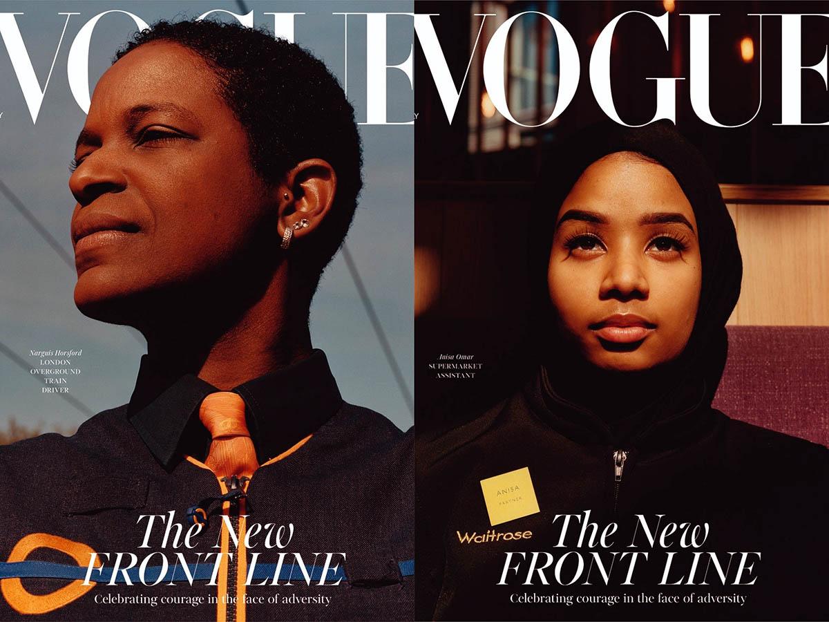 Британский Vogue анонсировал обложки июльского издания