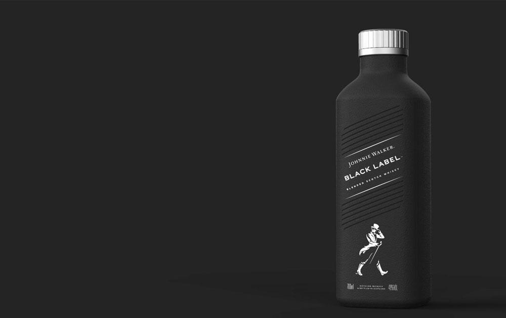Johnnie Walker будут выпускать свою продукцию в бумажных бутылках