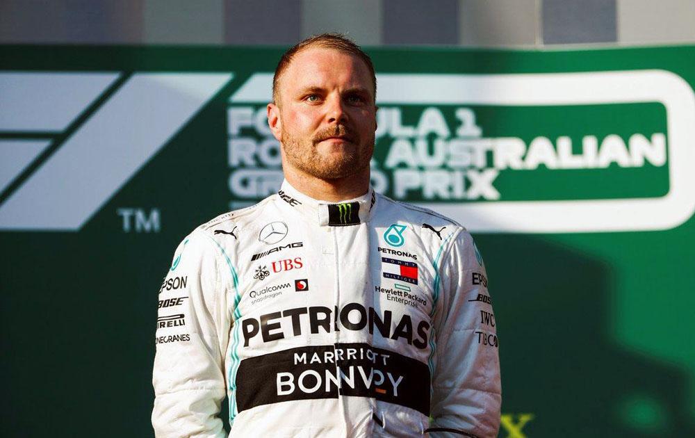 Mercedes продлили контракт с Валттери Боттасом на 2021 год
