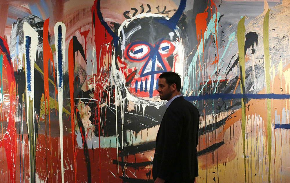 Работа Жана-Мишеля Баския была продана за 10,8 миллиона долларов с помощью приложения