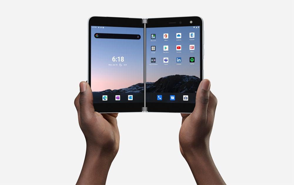 Компания Microsoft представила новый смартфон Surface Duo