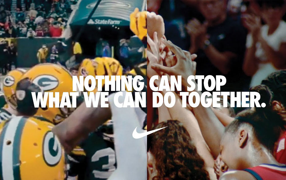 Nike выпустили мотивирующий ролик о спорте во время пандемии