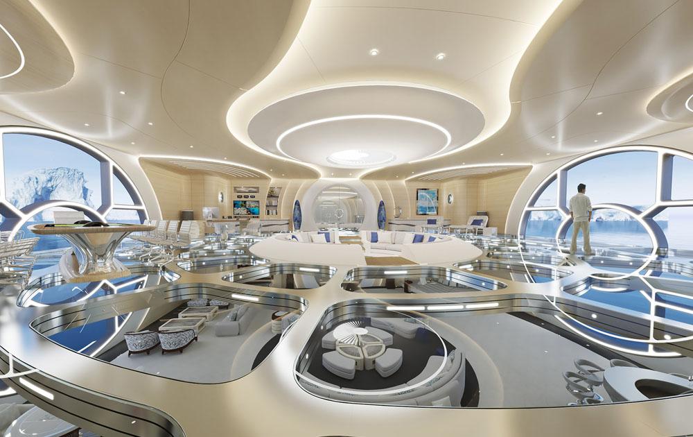 Бюро Gresham Yacht Design представило концепцию 328-футовой яхты Thor Explore
