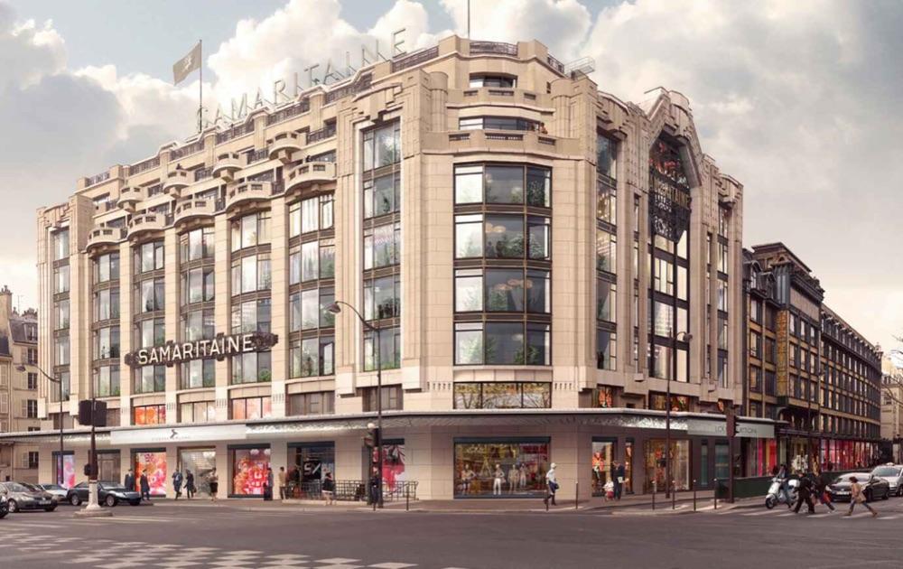 Louis Vuitton проведут покажут новую коллекцию под куполом La Samaritaine
