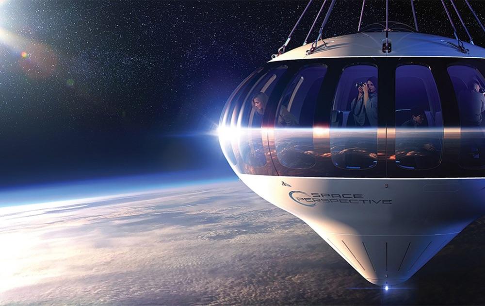Путешествие в космос на воздушном шаре: запуск Spaceship Neptune